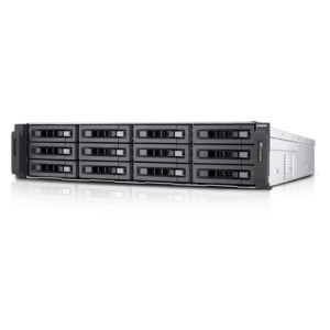 QNAP TS-EC1280U-E3-4GE-R2 12-bay high performance unified storage with built-in 10GbE