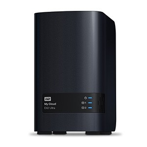 WD NAS My Cloud EX2 ULTRA Private Cloud Storage 2-Bay NAS Server / 8TB