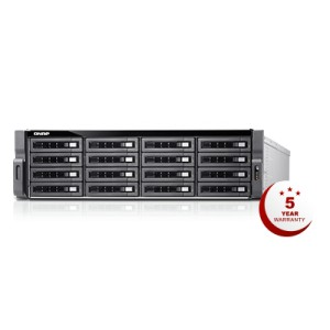 QNAP QNP-TDS-16489U-SA2 16-bay A Double Server powered by dual Intel® Xeon® E5 CPU for computing and storage - 128GB