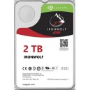 Seagate NAS IronWolf 2TB, 64MB CACHE, SATA 6GB for NAS 24x7 -  ST2000VN004