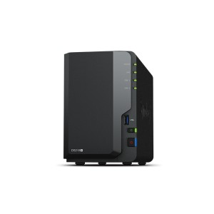 Synology DS218+ 2-Bay All-around storage solution optimized to safeguard your data