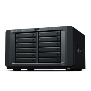Synology FS1018 Desktop form factor all-flash NAS designed for I/O-intensive and latency-sensitive applications