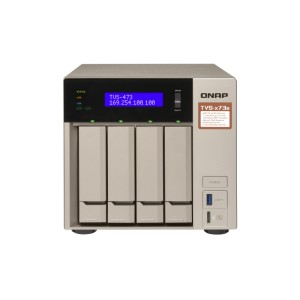 QNAP QNP-TVS-473e-4G A powerful business NAS with an AMD RX-421BD quad-core APU