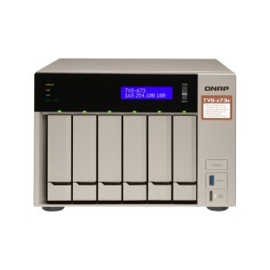QNAP QNP-TVS-673e-4G A powerful business NAS with an AMD RX-421BD quad-core APU