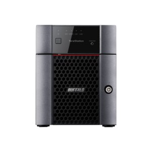 Buffalo NAS TeraStation™ 3410DN Great value, high performance NAS. 4 bay business NAS - 4TB