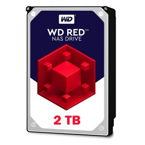 WD Red 2TB, 256MB CACHE, 5400 rpm, SATA 6GB for NAS 24x7 -WD20EFAX